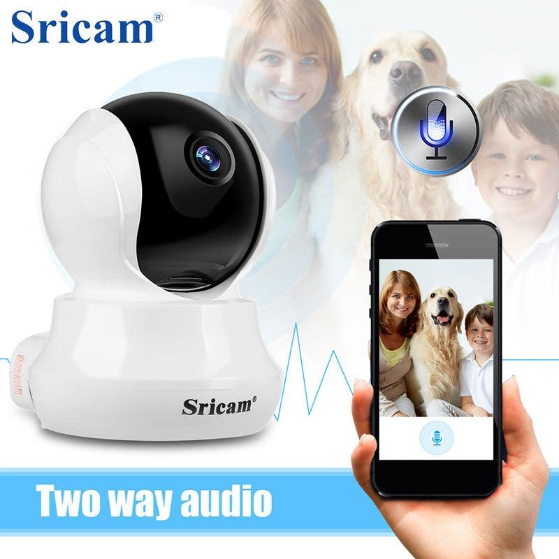 Sricam SP020 HD 720 p WiFi IP Caméra De Sécurité Intérieure IR-CUT Suvillance Sans Fil Caméra de Surveillance À Domicile CCTV Moniteur Pour Bébé