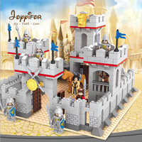Joyyifor Knights castle Figure Horse 3D Brick Educational Toys building block set compatible with LegoINGlys for Children Gift