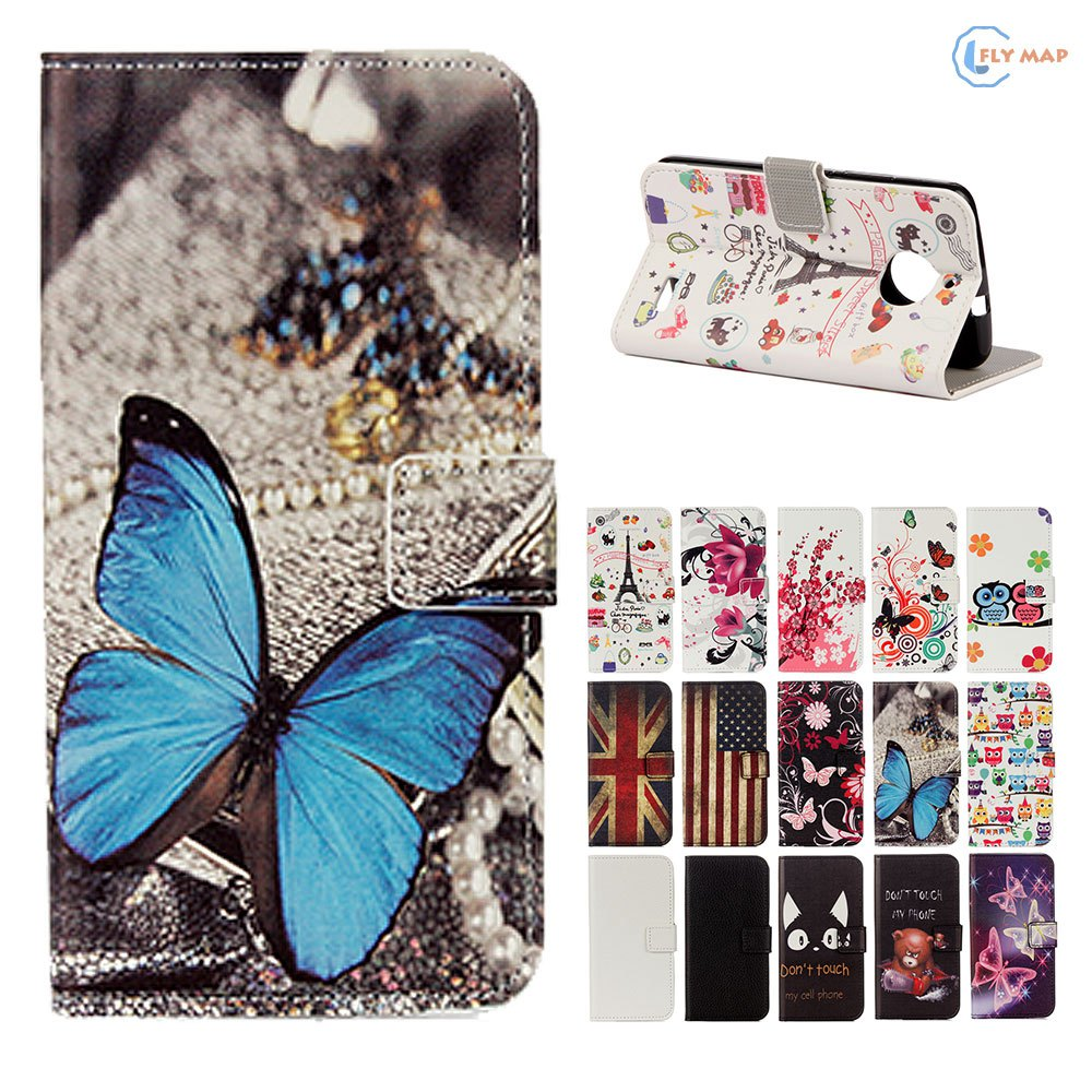 Flip Coque For Motorola Moto E4 XT1767 Wallet Card Phone Leather Case Cover For Motorola E 4th Gen XT-1767 XT1769 XT1760 Capa