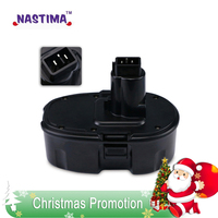 NASTIMA 18V 3300mAh NiMH Pod Style Battery Replacement Power Tool Battery for DEWALT DC9096 DC9099 High Capacity Cordless Drill