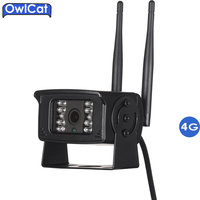 OwlCat HD 1080P Outdoor Waterproof 4G 3G SIM Card WIFI Camera Support Max 128G TF Card