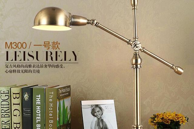Aliexpress koop amerikaanse landelijke retro bureaulamp
