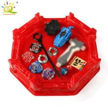 4pcs/set Beyblade Arena Spinning Top Metal Fight Beyblade Metal Beyblade Stadium Battle Top Gifts Classic Toy Launcher For Child(China)