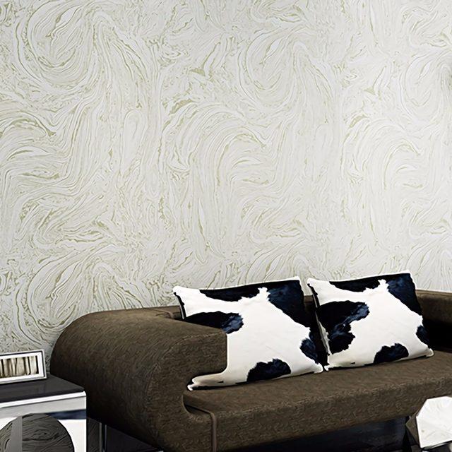 Grey/White/Beige Modern Metallic Marble Wallpaper Roll Abstract Wall Paper  Bedroom U0026 Living Room Wallpapers