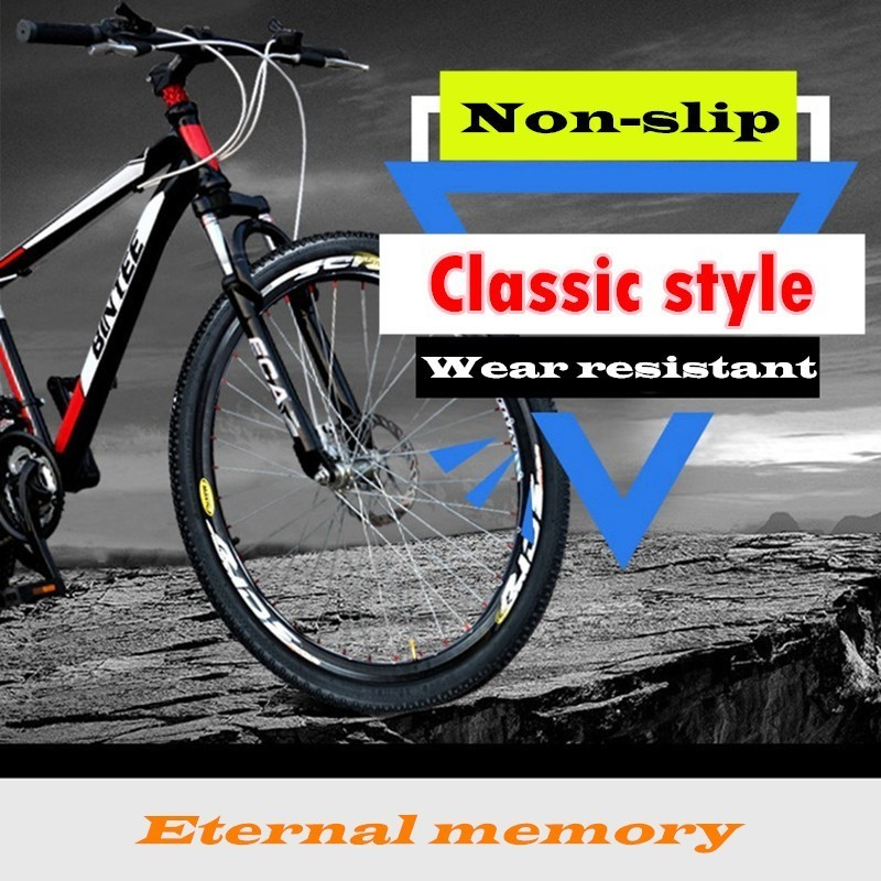 Bicycle <font><b>Tires</b></font> Inner Outer Tube 16 <font><b>20</b></font> 24 26 * 1.5 1.75 1.95 Snow Cycing MTB <font><b>BMX</b></font> Bike Rubber Tyre Accessories Full Model Pneumatic image