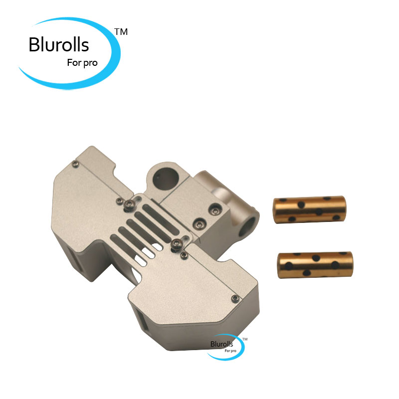 Blurolls V6 jhead mount and fan duct conversion to Ultimaker2+3D printer metal print head hot end mount For 6MM/8mm smooth shaft blurolls v6 jhead extruder mount kit perfect for um2 ultimaker2 3d printer print head hot end kit 6mm smooth shaft