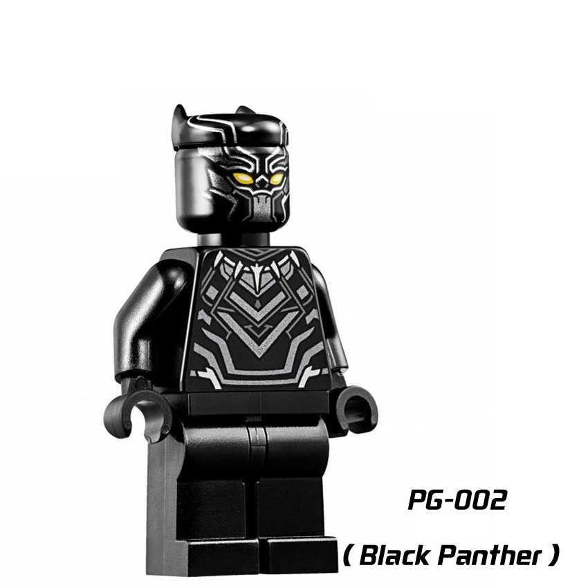 Hyperion Ms Marvel Super Heroes Capitão Black Panther Winter soldier Deadshot Ação Tijolo Blocos de Construção Para Crianças de Brinquedo de presente