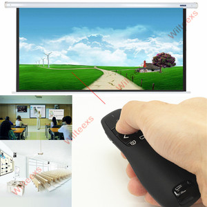 Image 5 - WILTEEXS handheld R400 2.4Ghz USB Wireless Presenter PPT Remote Control with Red Laser Pointer Pen for Powerpoint Presentation
