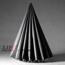 Adearstudio CD50 marca guarda-chuva guarda-chuva preto para a foto de 60 Polegada 150 cm Lambency softbox Guarda-chuva de Prata Preto