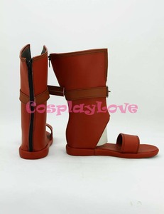 Image 2 - No Game No Life Tet Cosplay Shoes Boots Black Color Custom Made For Halloween Christmas Festival CosplayLove