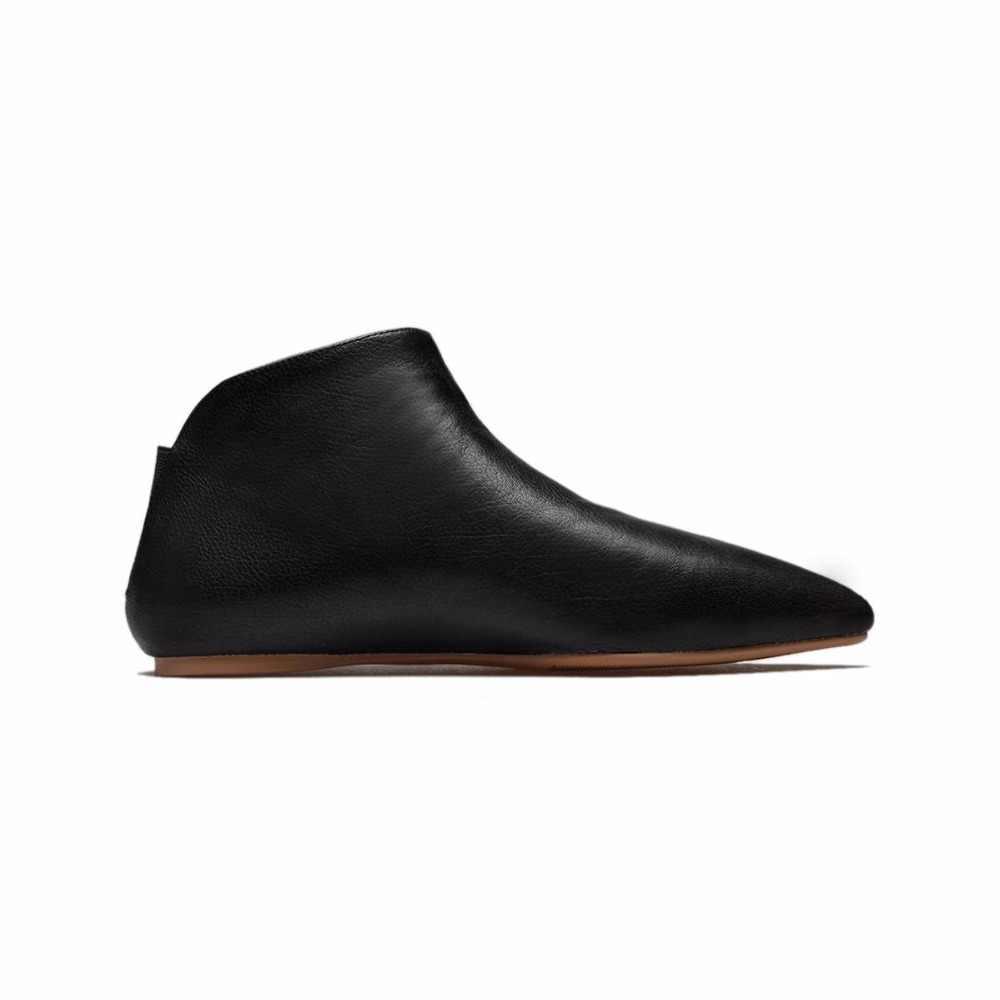 2019 Yeni Varış Hakiki Deri Sıcak Kış Ayakkabı Tutmak Modern Kız Sivri Burun kayma Rahat Flats Marka Hamile Ayakkabı l31