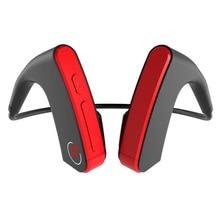 JRGK E1 Bone Conduction Bluetooth Earphone Wireless Outdoor Sports Running Headset With Microphone Shock Bass Ear-hook Headphone