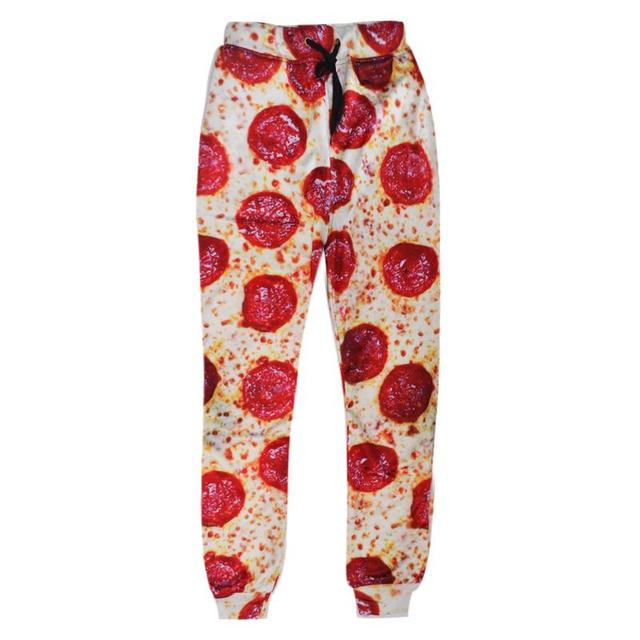 4300ce5688ad Raisevern new fashion Pizza full printing 3D joggers pants funny food  design 3d sweatpants men women unisex trousers pants