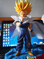 FÃS MODELO Original NEW Dragon ball 29 cm Super saiyan 2 Son Gohan resina GK modelo boneca Action Figure Model Collection brinquedos