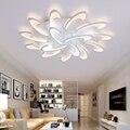 Светодиодный потолочный светильник с ультра-тонкой акриловой лампой  потолочный светильник для гостиной  кровати  комнаты  сливное креплен...