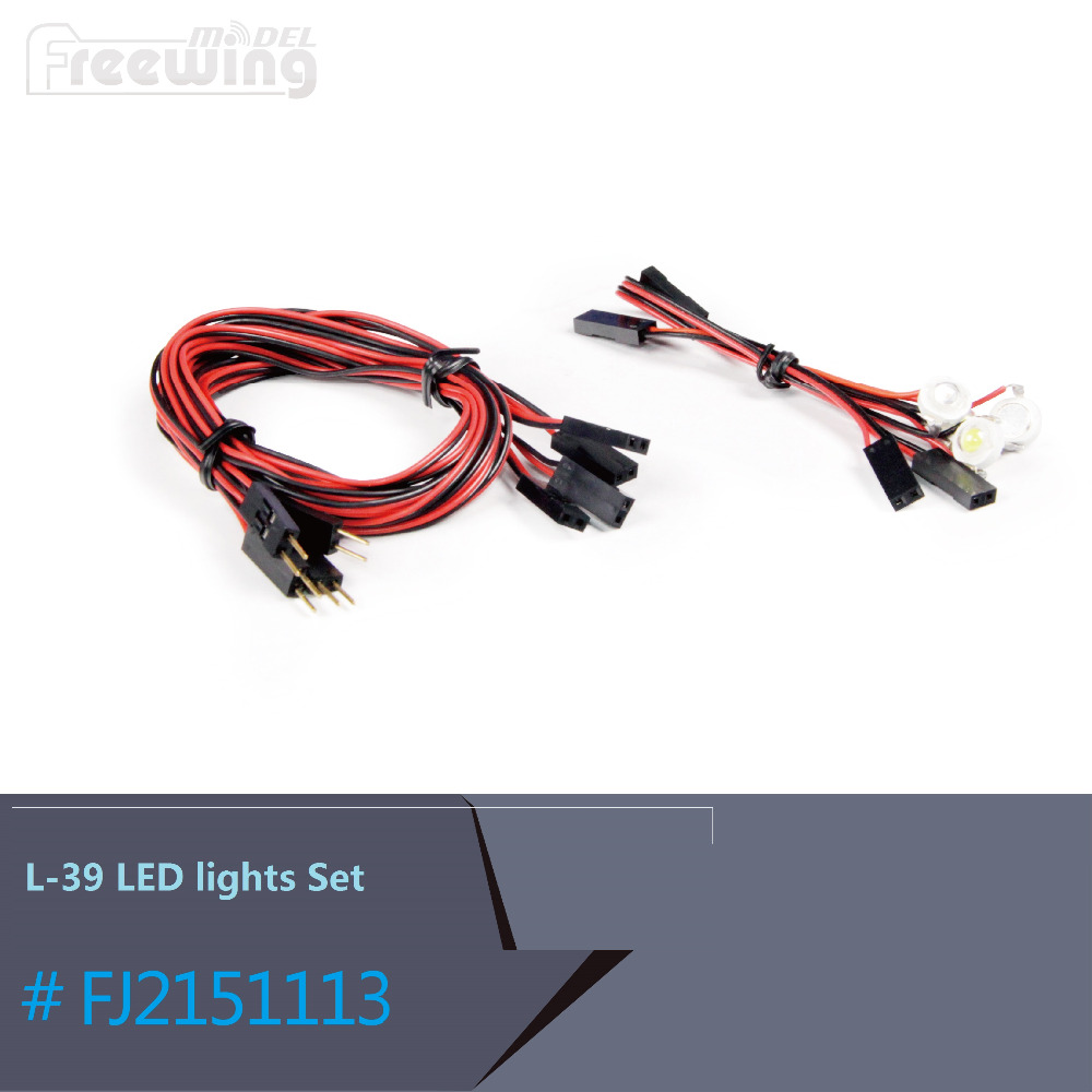 <font><b>LED</b></font> <font><b>Light</b></font> Set of <font><b>RC</b></font> EDF Jet <font><b>Plane</b></font> L39 L-39 Albatros 80mm EDF Jet image