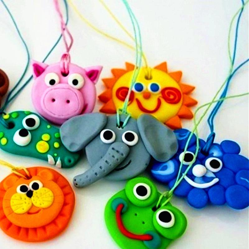 Modelling Clay Light Creative Handgum Toys Diy Polymer Clay Learning