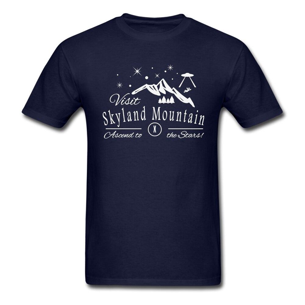 Short Sleeves Winter Cloth Personality <font><b>Skyland</b></font> Mountain Comfortable Cotton Fabric Cloth Pinted tee shirt printing