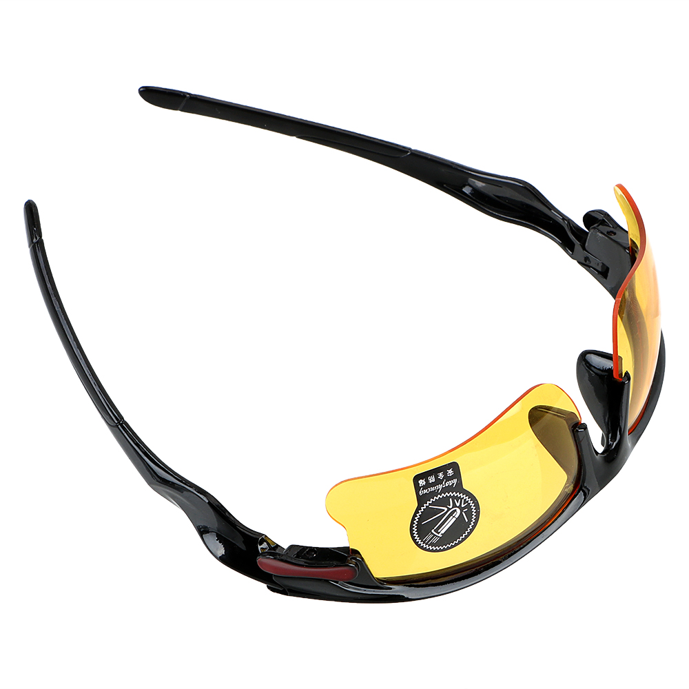 Night Vision Drivers GogglesProtective Gears Sunglasses Anti Glare Driving Glasses Night-Vision Glasses Car Styling 4