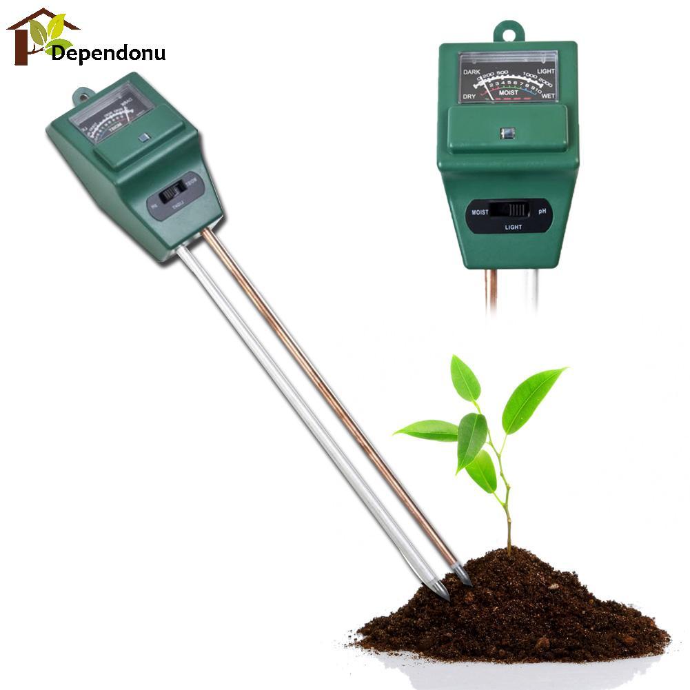 Misuratore di pH digitale 3 in1 Misuratore di umidità per acqua di - Strumenti di misura - Fotografia 3