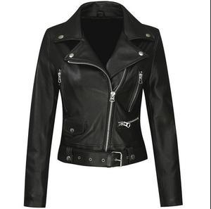 2020 Европейская мода весна и осень пальто из овечьей кожи женская куртка из натуральной кожи женская Мотоциклетная Куртка jaqueta de couro