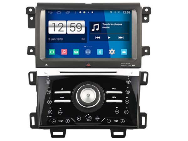 S160 Android Car Audio FOR FORD EDGE 2013 2015 DIGITAL AIR VERSION car dvd gps player