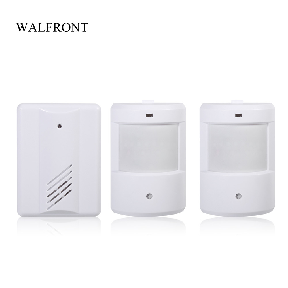 B6 Shop DOOR ENTRY CHIME Alert PIR Wireless VISITOR ALARM Motion Sensor Detector