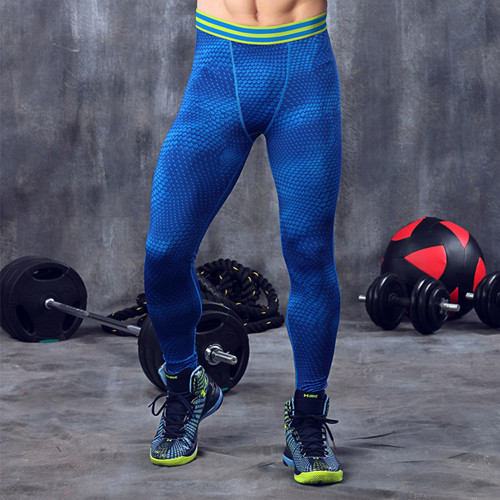 New Camo Mens Compression Pants Sports Gym Running Tights Skinny Basketball Running Base Layer Fitness Joggers Leggings Trousers