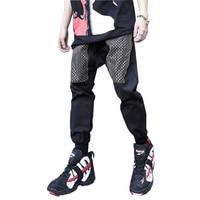 Hip Pop Men Harem Pants Punk Style Mens Streetwear Trousers Male Jogger High Quality Casual Track Pant Fashion Trouser Plus Size
