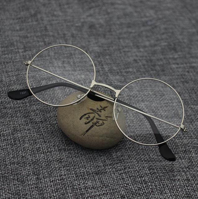 561d383bbd2 Round Spectacle Reading Glasses For Harry Potter Metal Frame Glasses Plain  Mirror Presbyopia Male Female Reading Glass