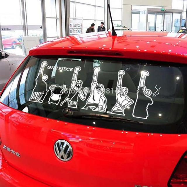 One piece reflective stickers car side sticker windows decals for chevrolet cruze ford focus vw mazda