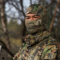 Mountain Terrain Bionic Camo  Balaclava Hood/ tactical Nijia headgear /Outdoor Hunting balaclava