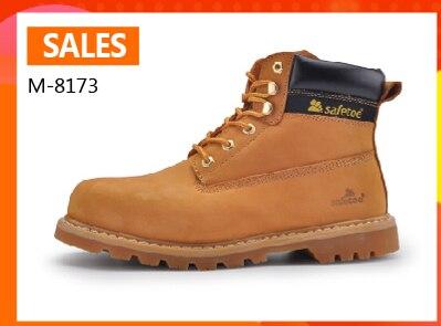 6ea5d4a866d5 Safety Shoes Work Boots Men Steel Toe Cap Water Resistant - www ...