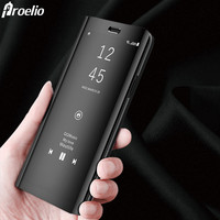 Proelio 2018 Mirror Case For Samsung Galaxy Note 8 S8 S8 Plus Smart Chip Clear View