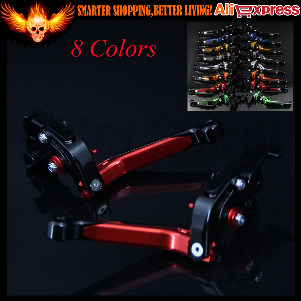 New Folding Extendable CNC Adjustable Motorcycle Brake Clutch Levers For Honda CBR650F/CB650F 2014-2016 2015 8 colors cnc folding foldable extendable brake clutch levers for honda cb650f cb 650f cb 650 f 2007 2014 2008 2009 2010 sliver