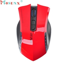 Mosunx Built-in MINI Receiver 2.4GHz 1600 DPI Wireless Professional Gaming Mouse Mice for PC Laptop 7 Buttons Optical Game Mouse