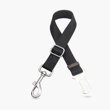 Pet dog car black safety belt leash nylon belt Cat Dog Pet Safety Car Vehicle Strap Seat Belt Adjustable Harness Lead Restraint недорого