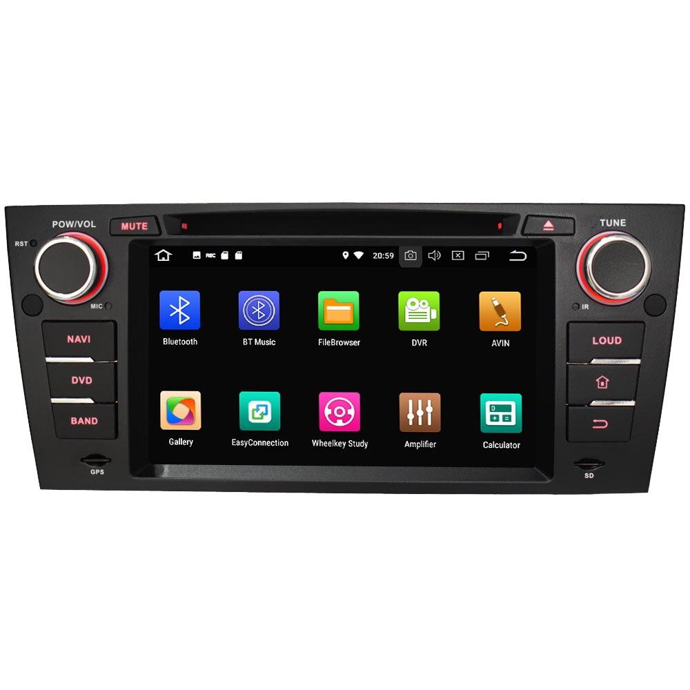 "Excellent 7"" Octa Core 4G WIFI Android 8.1 4GB RAM 64GB ROM RDS Car DVD Multimedia Player Stereo Radio For BMW E90 E91 E92 E93 2005-2012 1"