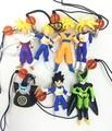 7pcs/lot 2-5cm Japanese original anime figure dragon ball action figure set collectible model toys for boys
