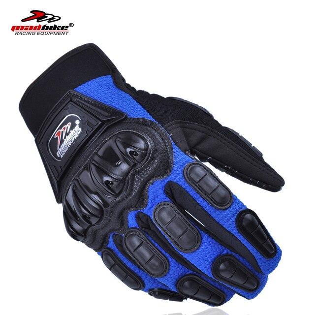 paquete de moda y atractivo 2019 original claro y distintivo Aliexpress.com : Buy Madbike gloves motorcycle guantes moto bicycle luvas  para moto luva motocross guantes invierno guantes motocicleta M L XL from  ...