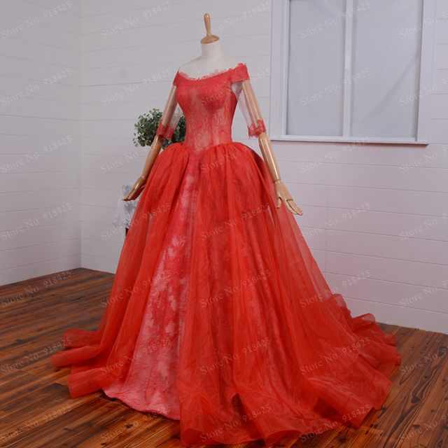 Online Shop Victorian Style Bodice See Through Princess Ball Gown ...