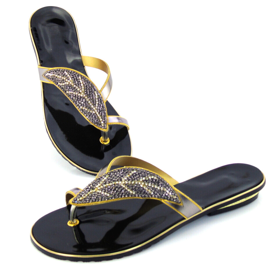 doershow New Design African Rhinestone low Heel Hot Selling African Sandals High Heels Free Shipping!!DD1-71 mb barbell мв 2 27 grey