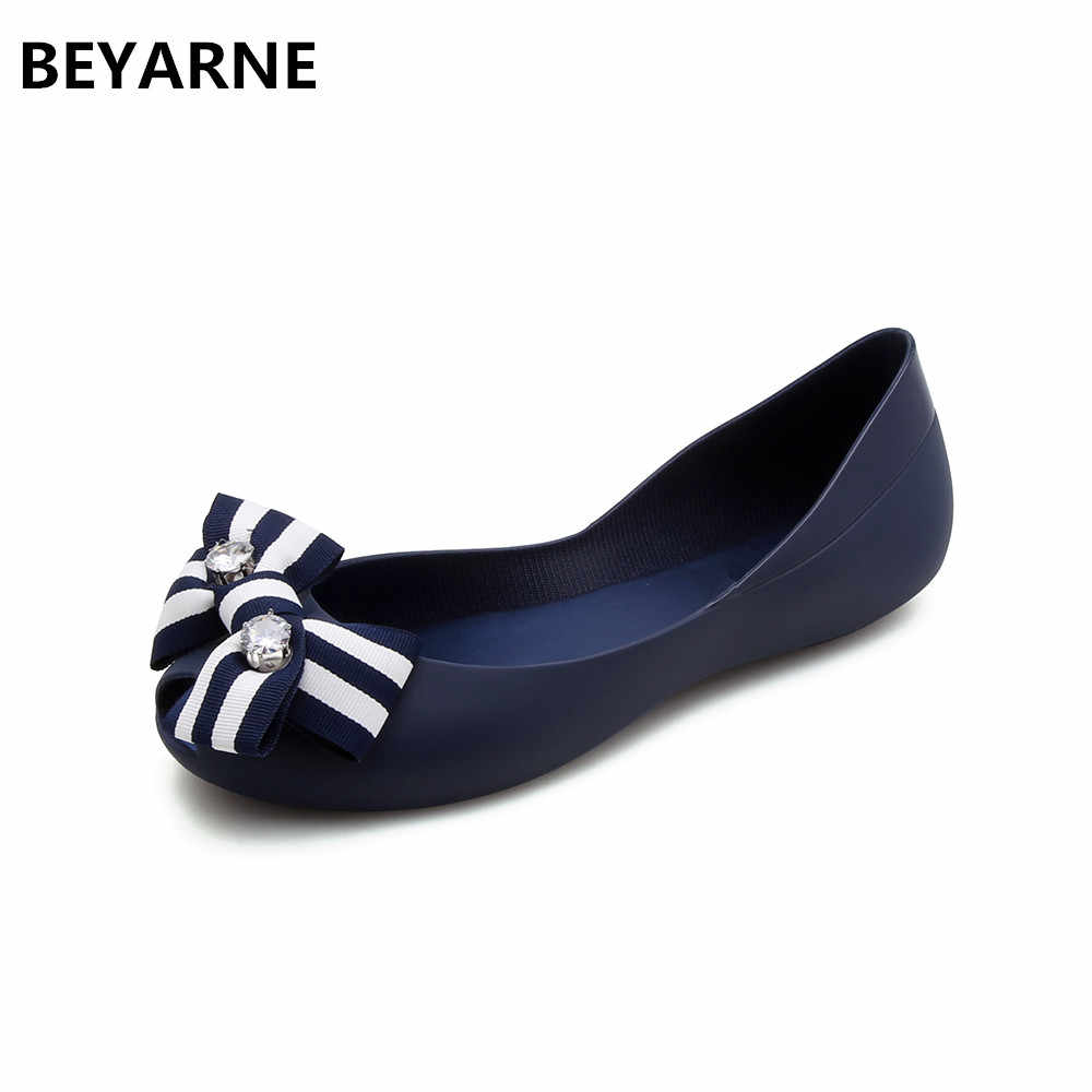 df36f5581d Detail Feedback Questions about BEYARNE fashion woman jelly shoes ...