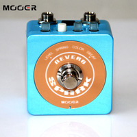NEW Effect Guitar Pedal MOOER SPARK REVERB Attractive lighting design free shipping Guitar accessories
