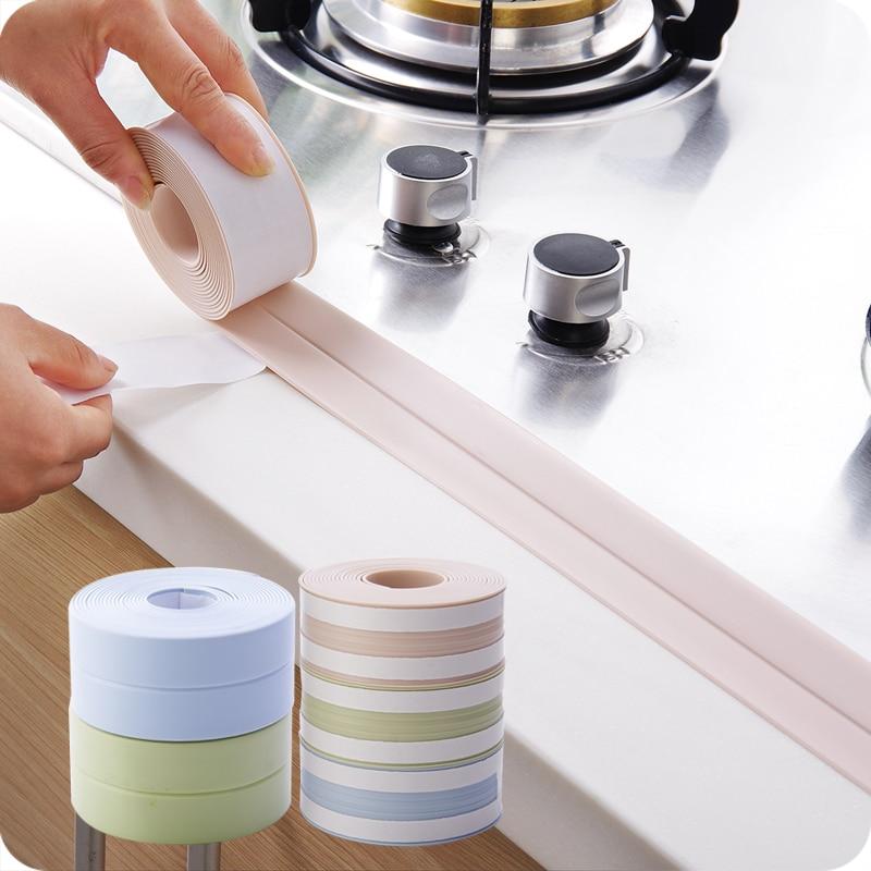 Pvc waterproof mildew proof adhesive tape kitchen sink - Klean strip adhesive remover lowes ...