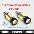 4x Supre White Canbus Error Free Car LED T15 W16W 5050 15SMD Backup Reverse Light High Quality