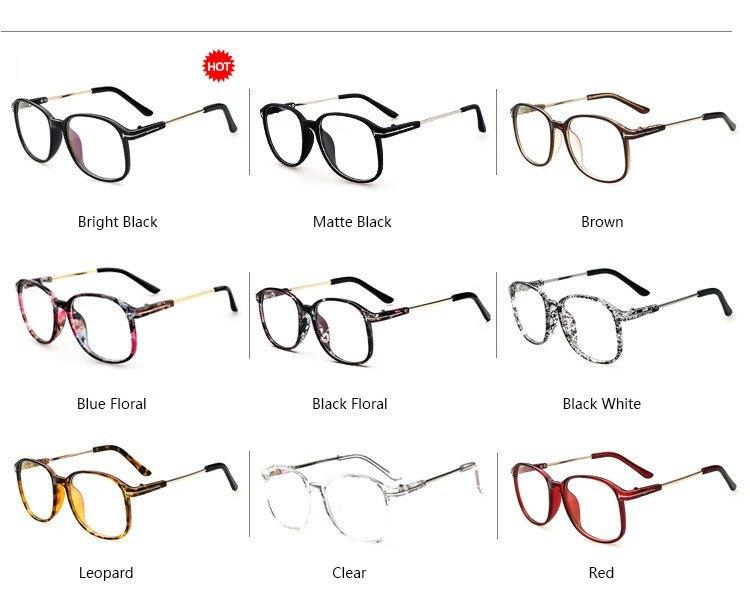 2018 Fashion Oversized Eyeglasses Frames Vintage Spectacle Frame ...