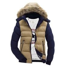 Mountainskin Men's Winter Jackets Thick Hooded Fur Collar Parka Men Coats Casual Padded Mens Jackets Male Clothing 6XL 7XL SA748