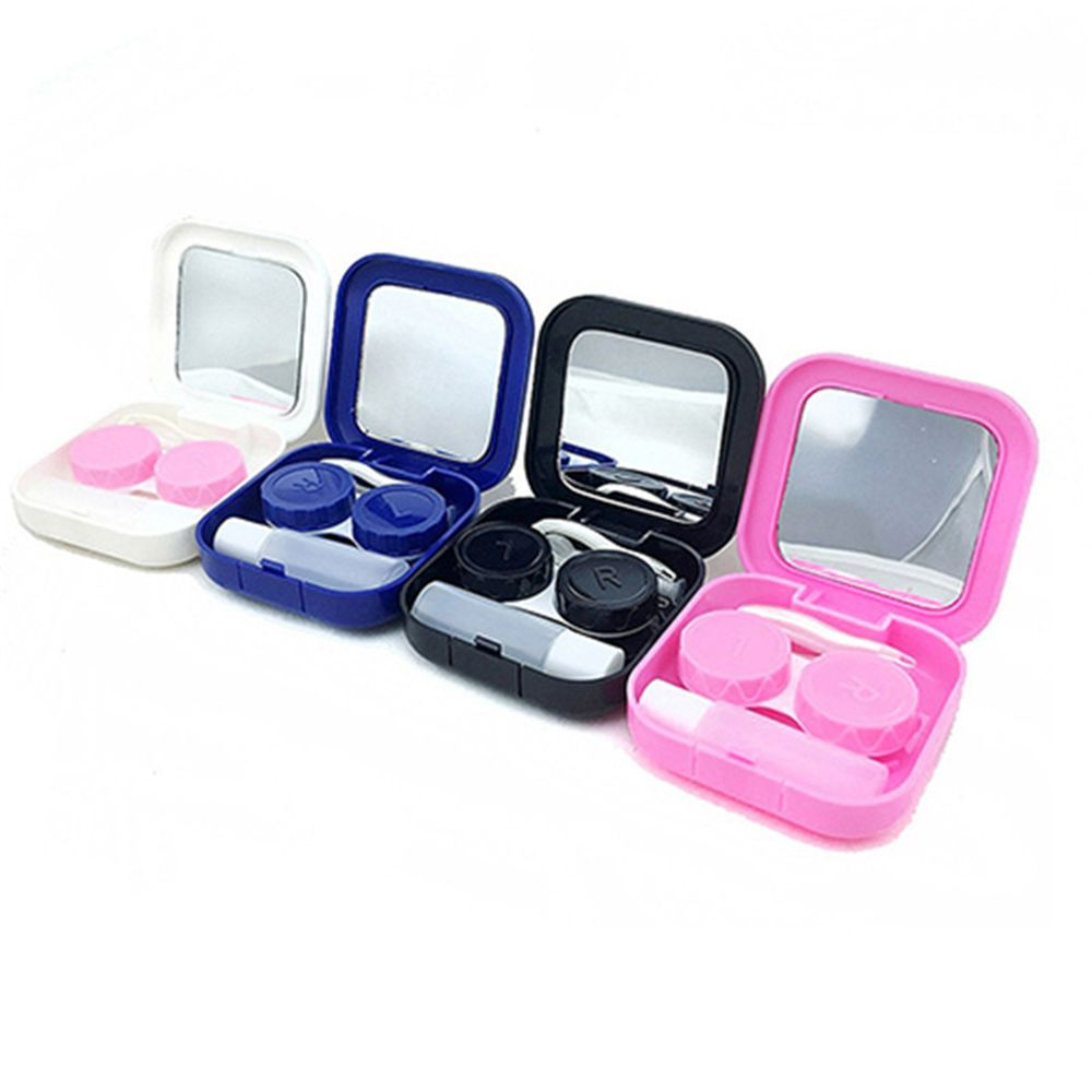 Case Travel Contact-Lens Storage Travel-Packing-Organizer Soaking-Box Container-Holder