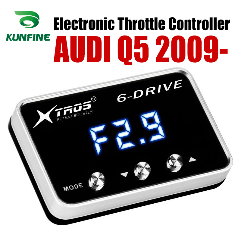 Car Electronic Throttle Controller Racing Accelerator Potent Booster For AUDI Q5 2009-2019 Tuning Parts AccessoryCar Electronic Throttle Controller Racing Accelerator Potent Booster For AUDI Q5 2009-2019 Tuning Parts Accessory